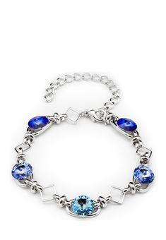 Bohemian Love Story Armband 5 Rivoli, Swarovski® crystals silber Jetzt bestellen unter: https://mode.ladendirekt.de/damen/schmuck/armbaender/silberarmbaender/?uid=c2b82653-1aca-554b-8eea-baaeb8f41134&utm_source=pinterest&utm_medium=pin&utm_campaign=boards #schmuck #silberarmbaender #armbaender #bekleidung Bild Quelle: brands4friends.de