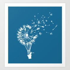 Going where the wind blows Art Print by Budi Satria Kwan - $19.97