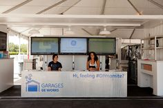 GE welcomes #Houston community to #Garages on Rice University campus.
