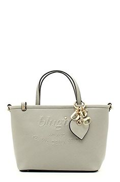 BORSA BLUGIRL SMALL SHOPPING LIGHT GREY 002. Shopping 0a2f685de3d