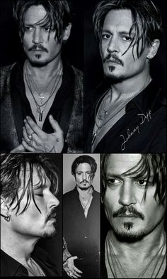 Johnny Depp ❤❤❤such a beautiful mature man. Young Johnny Depp, Here's Johnny, Hot Actors, Actors & Actresses, Barba Van Dyke, Johnny Depp Pictures, Hollywood, Captain Jack, Celebs