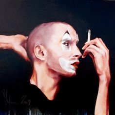 2009 - Archive of Paintings by Igor Shulman Paintings For Sale, Original Paintings, Abstract Paintings, Pierrot Clown, Circus Art, Countries Of The World, Figurative Art, Art Google, Contemporary Art