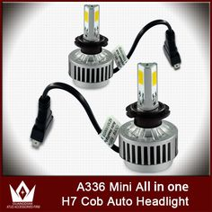 (31.09$)  Watch now - http://aild8.worlditems.win/all/product.php?id=32674672322 - Cheetah car led light Auto COB LED Headlight Fog light 3 SMD A336 9V-16V 36W 3000K 6000K H7 3300ml Head light