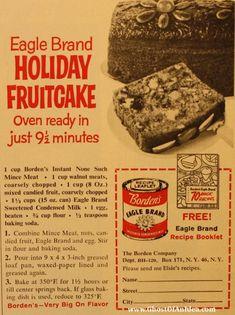 Eagle Brand Holiday Fruitcake