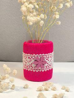 """Vasen - Glasvase """"Upcyc"""" - ein Designerstück von Nadeltasse bei DaWanda Designer, Etsy, Glass Vase"""