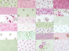 Simply Shabby Chic Rachel Ashwell Fabric Quilt Kit