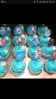 Frozen cuppycakes