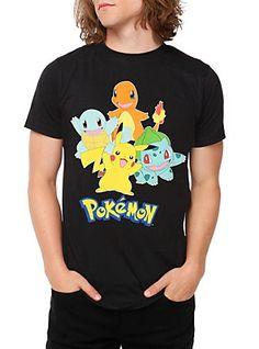 Pokemon Starters T-Shirt,