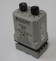 Ad Ebay Signaline 10a Recycle Timer Relay 338 120v 180s W Base 95431c E In 2020 Relay Timer Ebay