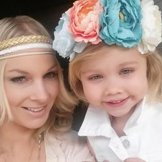 Head-wraps and flower crowns. www.hartsandpearls.com