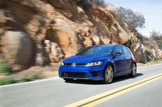 The 2015 VW Golf R's AWD system fights physics, creating a middle-class supercar Vw Golf R Mk7, Volkswagen Golf R, Diesel Cars, Sub Brands, Subaru Wrx, Digital Trends, Car And Driver, Toyota Camry, Manual Transmission