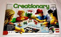 LEGO Creationary Game (3844) by Lego 3 - 8 players #LEGO