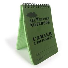 Gifts & Novelties | Army & Outdoors  All Weather Olive Drab Notepad Small Gifts, Gifts For Kids, Rustic Painting, Army Gifts, Woodland Camo, Loot Bags, Gift Vouchers, Flask, Weather
