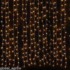 6 Waterfall Curtain Lights String Light Wedding Party Xmas Decoration for sale online Starry String Lights, White String Lights, Icicle Lights, Xmas Lights, Holiday Lights, Fairy Lights, Light String, Transformers, Sweet 16 Masquerade
