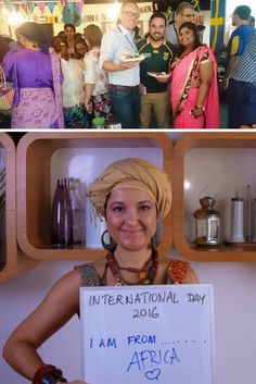 Candice T. gives you a look at how Ericsson's UAE team celebrated WDCD!