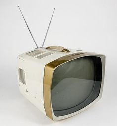 Television Set, Vintage Television, Portable Tv, Tv Sets, Retro Futuristic, Atomic Age, Vintage Tv, Old Tv, Tvs