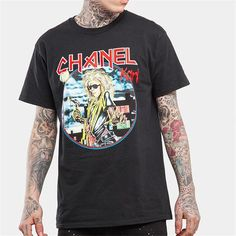 Inflation Chanel Karl World Tour T-Shirt