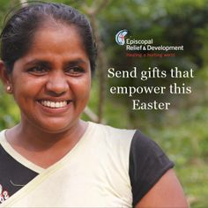 Meaningful Gifts, Literacy, Christ, Success. Episcopal Relief & Development