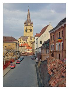 This photo from Sibiu, West is titled 'quaint Transylvania III'. Sibiu Romania, Overseas Travel, Medieval Castle, Bucharest, Historical Sites, Landscape Photos, Bulgaria, Alps, Places Ive Been
