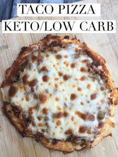 Taco Pizza Keto/Low