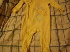 "Babies R Us ""A, B, C's"" Sleepwear With Feet 3-6M #BabiesRUs"