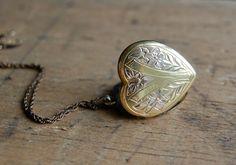 Love an old locket...