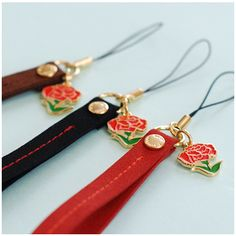 Carnation Cell Phone Strap