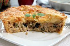 Tourte au poulet / facile, rapide - Les joyaux de sherazade : Recettes de cuisine algerienne et de monde.