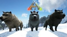 Ark Dire Wolf Tame Part 18