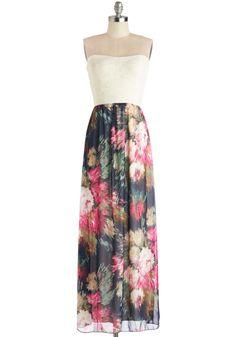 Conceptual Bouquets Dress, #ModCloth