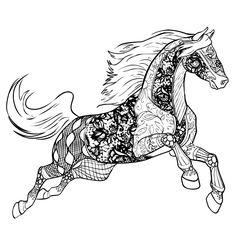 die 14 besten bilder von gratis ausmalbilder pferde