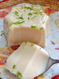 blanc-manger coco citron cannelle lait concentré sucre Martinique