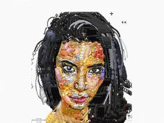 Real life celebrities made entirely out of emojis  http://de.dawanda.com/product/73253091-Emoji-Emoticon-Halskette