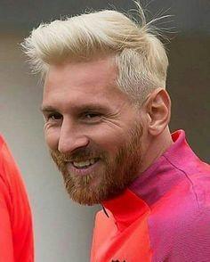 Messi new look ^^