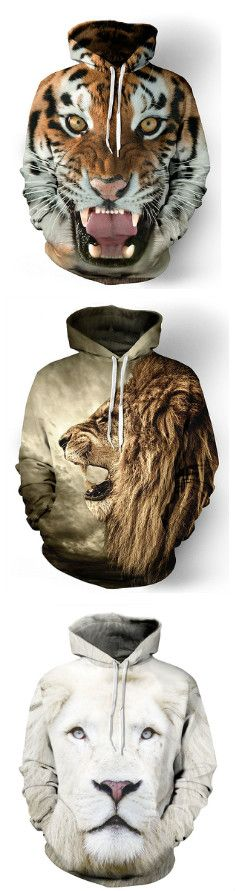 You will love these 3D hoodies this winter! AWESOME!