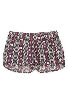 { pattern shorts }