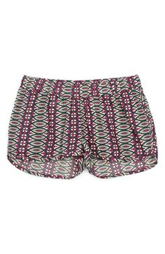 Peek 'Medallion Spring' Cotton Shorts (Toddler Girls, Little Girls & Big Girls) available at #Nordstrom