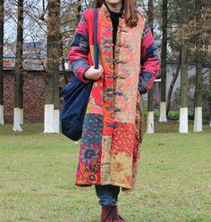 Chinese New Year patchwork jacket от AshSweeties на Etsy