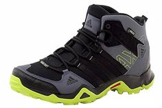 adidas Outdoor Mens AX 2 Mid GTX  BlackSemi Solar SlimeOnix 105 D  Medium ** Check out this great product.(This is an Amazon affiliate link)