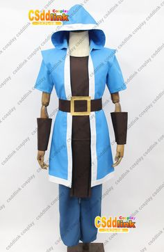Clash of Clans COC Wizard Cosplay Costume - CSddlink cosplay