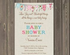 Negro e invitación de ducha Baby blanco negro y por PartyPopInvites