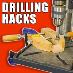5 Quick Drilling Hacks! #woodworking