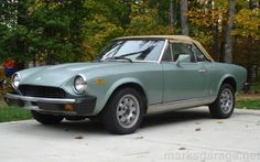 1979 Fiat Spider, this is what my car will look like when finished!