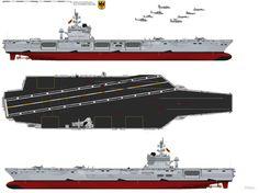 Erich Hartmann, Modern Tech, Navy Ships, Aircraft Carrier, Military Art, Battleship, Top View, Wwi, Warfare