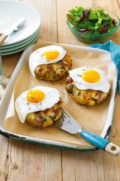 5.2 diet recipe: Poached egg on bubble and squeak