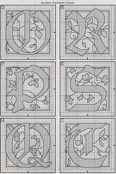 celtic Verdant alphabet 4                                                                                                                                                                                 More