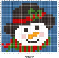 Stitch Fiddle is an online crochet, knitting and cross stitch pattern maker. Tiny Cross Stitch, Easy Cross Stitch Patterns, Cross Stitch Borders, Cross Stitch Designs, Stitching On Paper, Cross Stitching, Cross Stitch Embroidery, C2c, Graph Paper Art