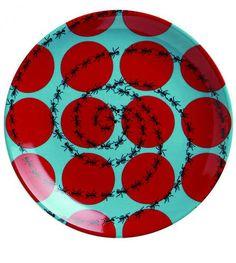 Platos Estampados - 10 accesorios decorativos al alcance de su... cupo
