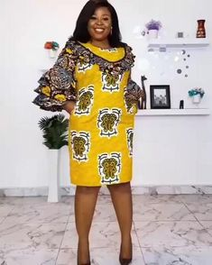 Short African Dresses, African Fashion Skirts, Ankara Short Gown Styles, South African Fashion, African Print Dresses, African Print Fashion, Africa Fashion, Ankara Styles For Women, Kente Styles