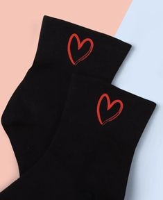 (1) 'Take My Heart' Ankle Sock – Pretty Feet Trinkets Sock Ankle Boots, Ankle Socks, Bootie Socks, Cute Boots, Out Of Style, Take My, Going Out, Booty, Legs